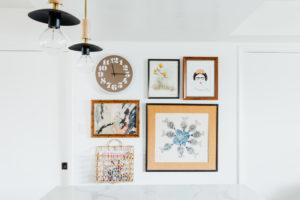 A modern kitchen pantry interior design project by Studio Plumbq
