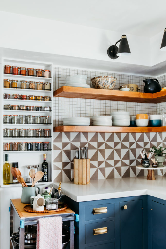 A modern kitchen pantry interior design project by Studio Plumb