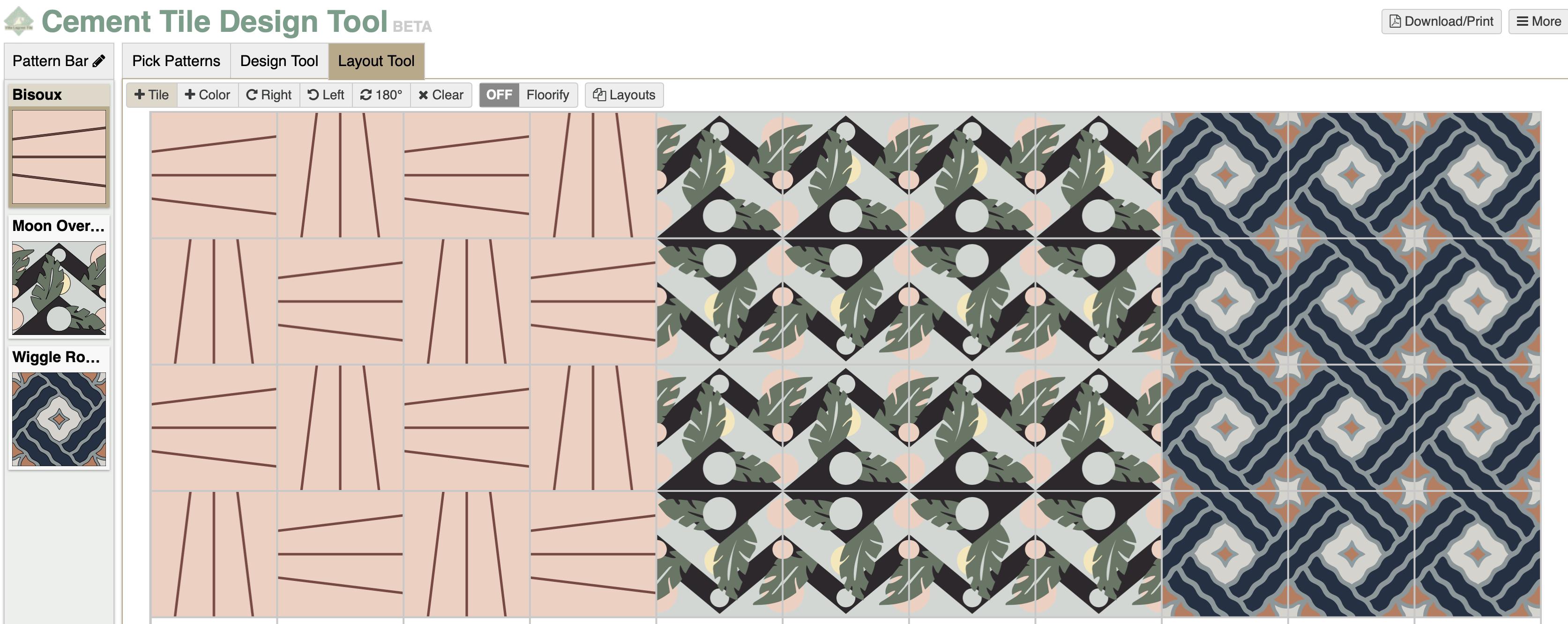 orc week 3 we have cement tile floors